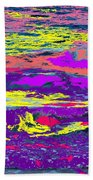 Fiery Passion Beach Towel