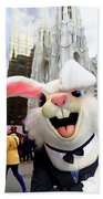 Fifth Ave Easter Bunny Beach Towel