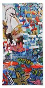 Fifth Day Of Creation 201764 Beach Towel