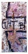 Fight Back - Berlin Wall Beach Towel