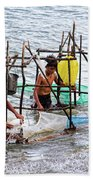 Filipino Fishing Beach Towel