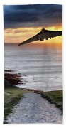 Final Beachy Head Pass Beach Towel