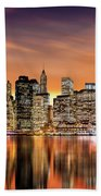 Financial District Sunset Beach Towel