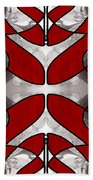 Finding Light In Life Abstract Illustrations By Omashte Beach Towel