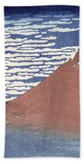 Fine Weather With South Wind Beach Towel by Hokusai