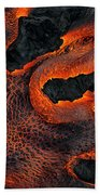 Fingers Of Lava Beach Towel