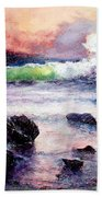Fire And Water 1.0  Beach Towel