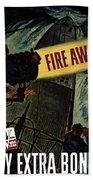 Fire Away Beach Towel by War Is Hell Store