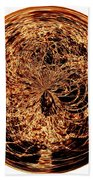 Fire Ball Beach Towel