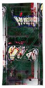 Fire Escape 6 Beach Towel