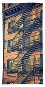 Fire Escape Beach Towel