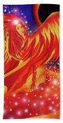 Fire Fairy Beach Towel