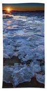 Fire Island Winter Beach Towel