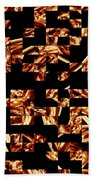 Fire Jumble Beach Towel