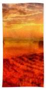 Fire Of A New Day Beach Towel