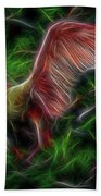 Fire Spirit 2 Beach Towel