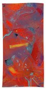 Fire Storm Beach Towel