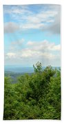 Fire Tower View - Pipestem State Park Beach Towel