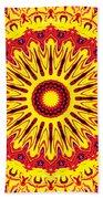Fireball  Beach Towel