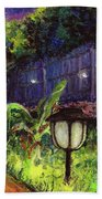 Fireflies In Woodfin Beach Towel