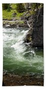 Firehole Canyon 1 Beach Towel