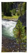 Firehole Fin Beach Towel