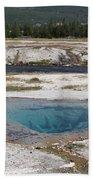 Firehole River And Pool Beach Towel