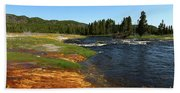 Firehole River Colors Beach Towel
