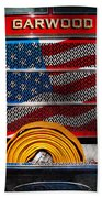 Fireman - I'll Put Your Fire Out Beach Towel by Mike Savad