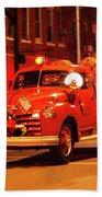 Fireman's Parade No. 3 Beach Towel