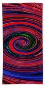 Fires Of Evil Wants Mother Earth Beach Towel