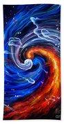Firestorm Dancing With The Wind  Beach Towel