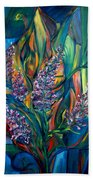 Fireweed Bouquet Beach Towel