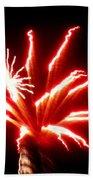 Firework Hibiscus Beach Towel