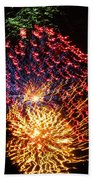 Firework Jewel Blast Beach Towel