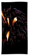Fireworks 10 Beach Towel