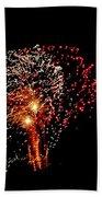 Fireworks 14 Beach Towel