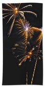 Fireworks 3 Beach Towel