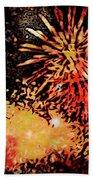 Fireworks 4 Beach Sheet