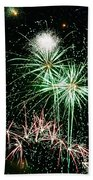 Fireworks 4 Beach Towel