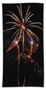 Fireworks 5 Beach Towel
