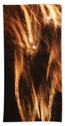 Fireworks A Different Perspective Five Beach Towel