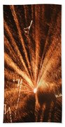 Fireworks A Different Perspective Seven Beach Towel