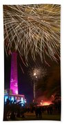 Fireworks At Maspalomas 1 Beach Towel