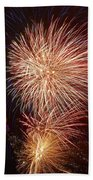 Fireworks At Maspalomas 2  Beach Towel