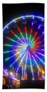 Fireworks At The Fair Beach Towel