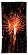 Fireworks Eighteen Beach Towel