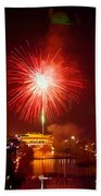 Fireworks In Phoenix Beach Towel