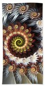 Fireworks Of Isis Beach Towel by Amorina Ashton