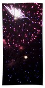 Fireworks Over Puget Sound 10 Beach Towel